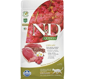 Natural & Delicious Grain Free Quinoa Urinary Duck Adult - 1.5 Kg (Pack Of 8)