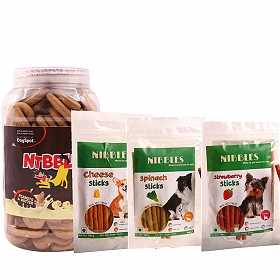 DogSpot Veg Treat Pack