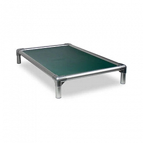 Kuranda All Aluminium Dog Bed Forest Green - Medium