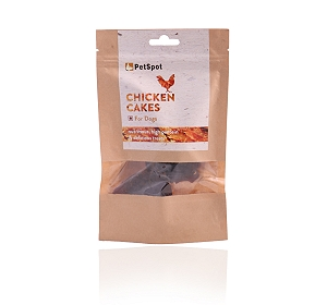 PetSpot Chicken Cakes - 70 gm (Pack of 5)