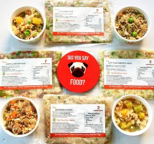 FurrMeals Four Variant Mixed Trial Pack - 400 gm