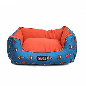 Mutt Of Course Lounger Bed For Dogs - Pupscicles - Medium