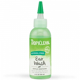 Tropiclean Alcohol-Free Ear Wash 118ml