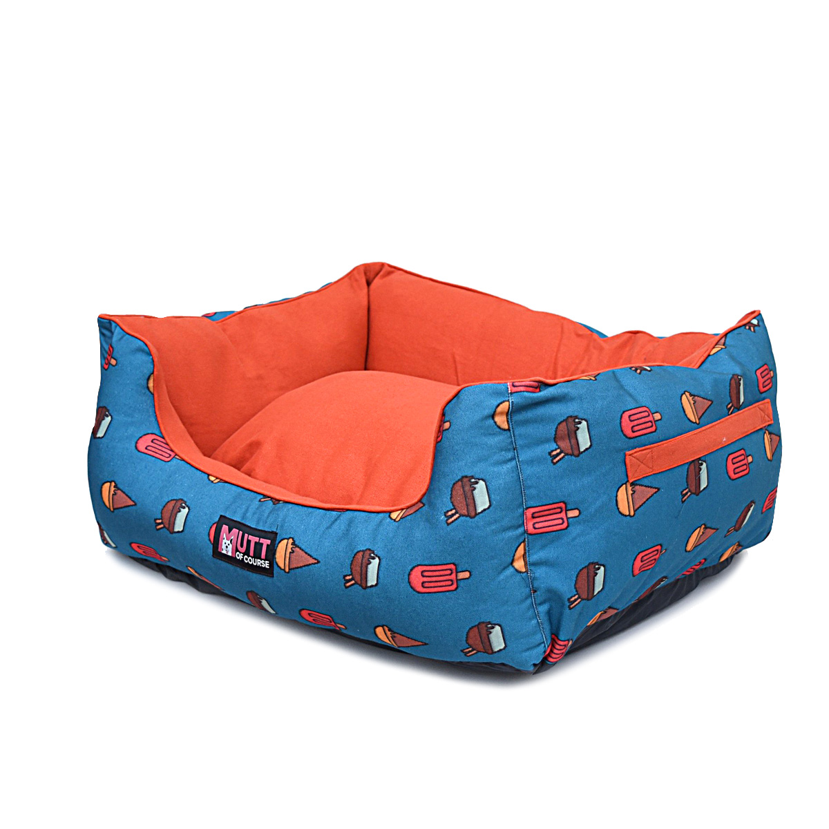 Mutt Of Course Lounger Bed For Dogs - Pupscicles - Xlarge