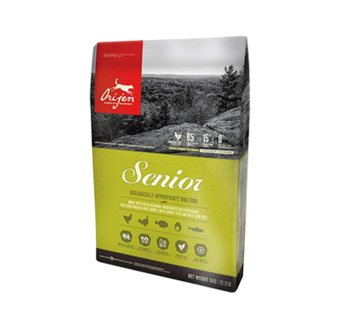 Orijen Senior Dog Food- 11.4 Kg