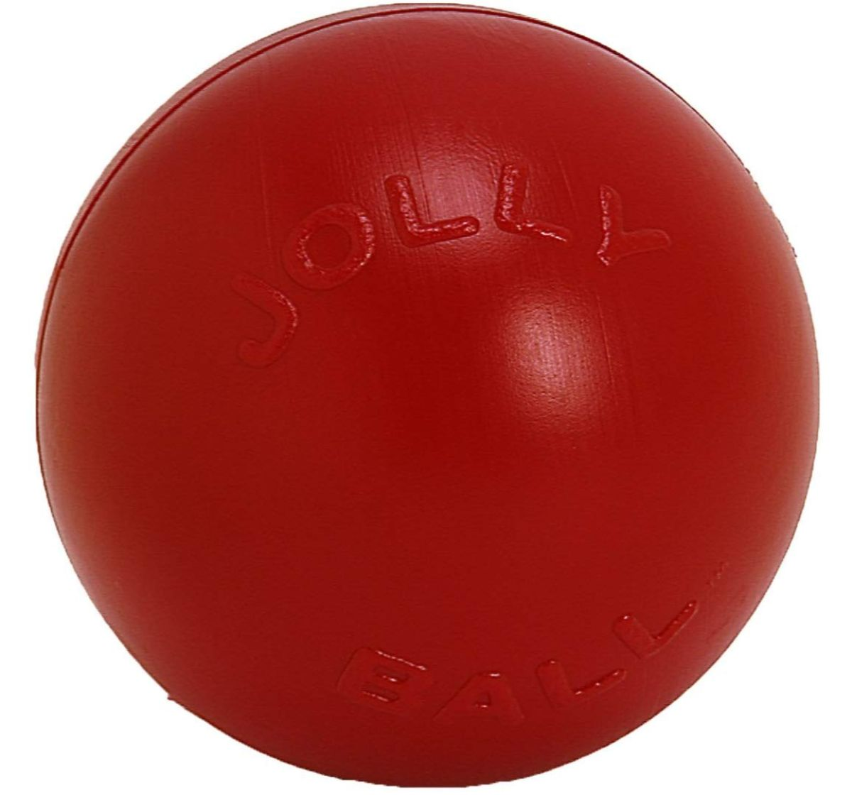 Jolly Pets Push-n-Play Ball Dog Toy Red - 25.4 cm