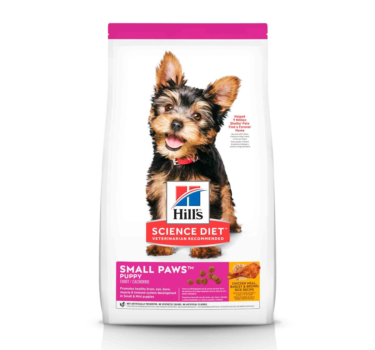 Hill's Science Diet Canine Dry Dog Food Adult 7+ Small Paws - 1.5 Kg