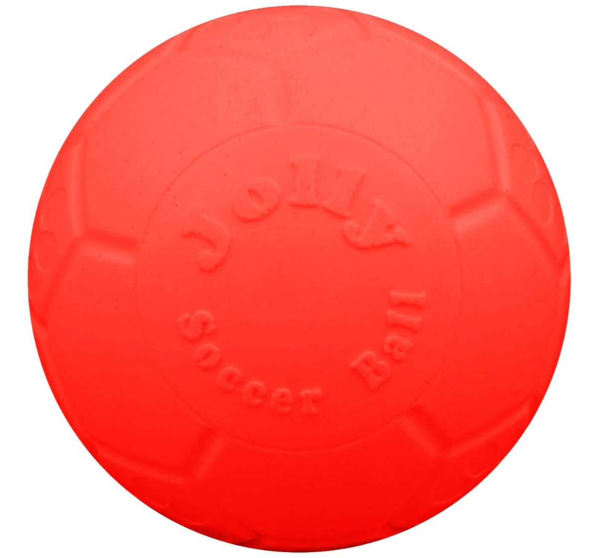Jolly Pets  Jolly Scoccer Ball Dog Toy Orange - 20.3 cm