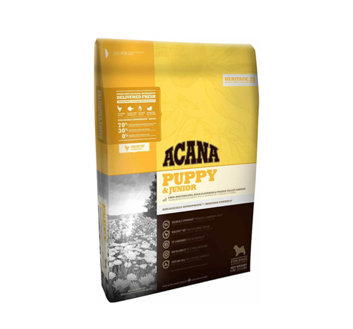 Acana Puppy & Junior Food - 6 Kg