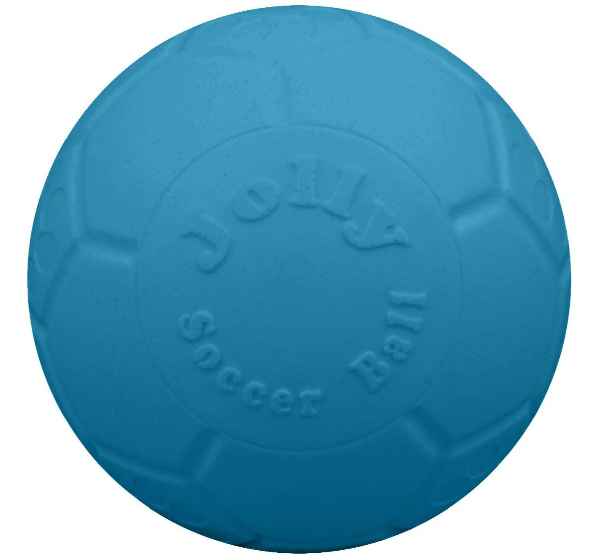 Jolly Pets  Jolly Scoccer Ball Dog Toy Ocean Blue - 15.24 cm
