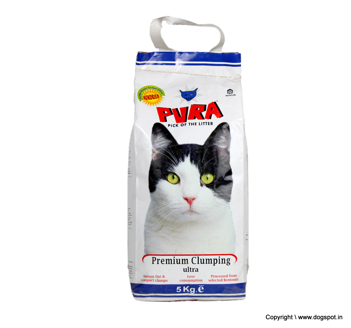 Pura Premium Clumping Ultra Cat Litter - 5 Kg