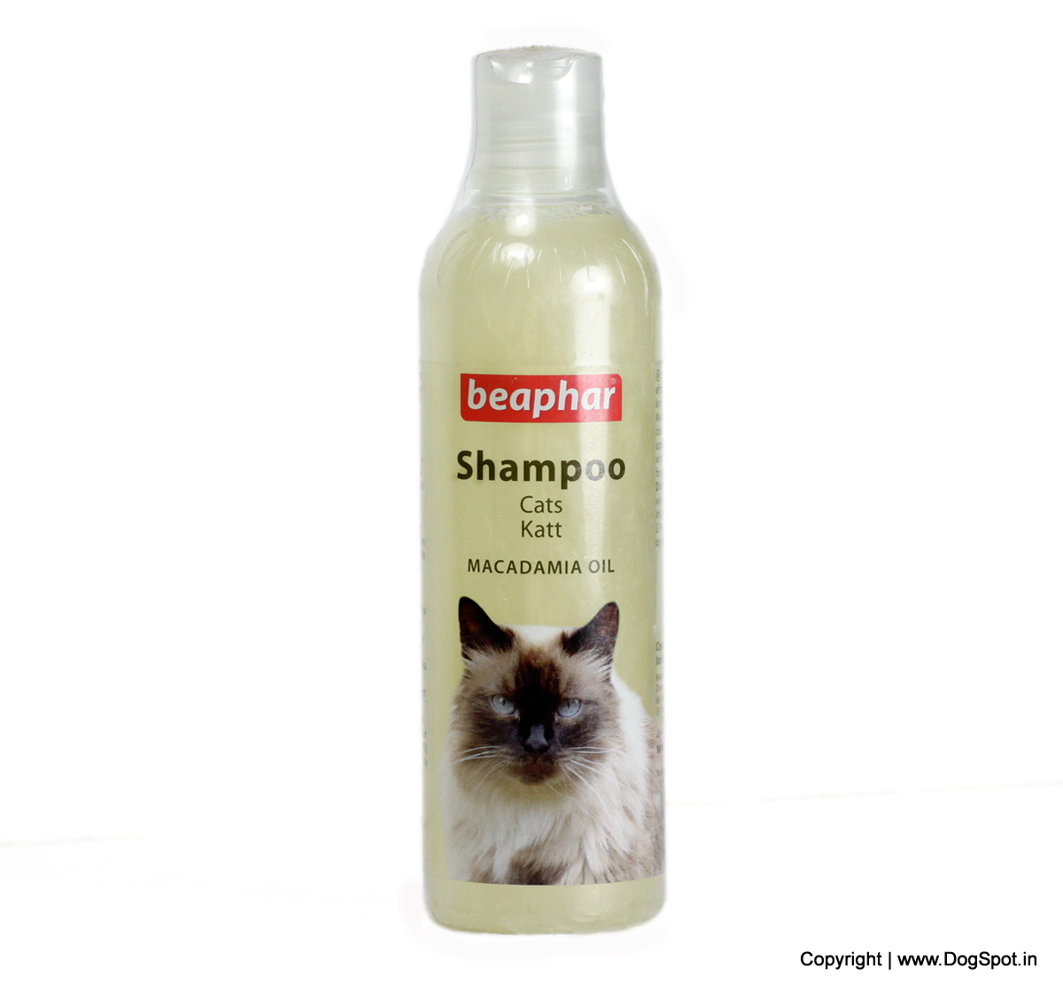 Beaphar Cat Shampoo Macadamia Oil - 250 ml