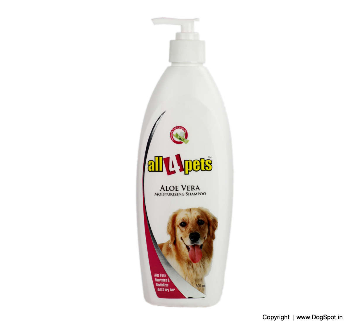 Aloevera Moisturizing Pet Shampoo 500 ml