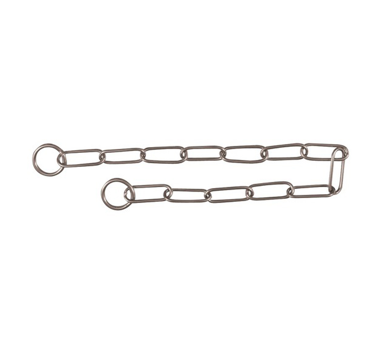 Trixie Dog Long Link Choke Chain Stainless Steel - Small - 4.0 mm