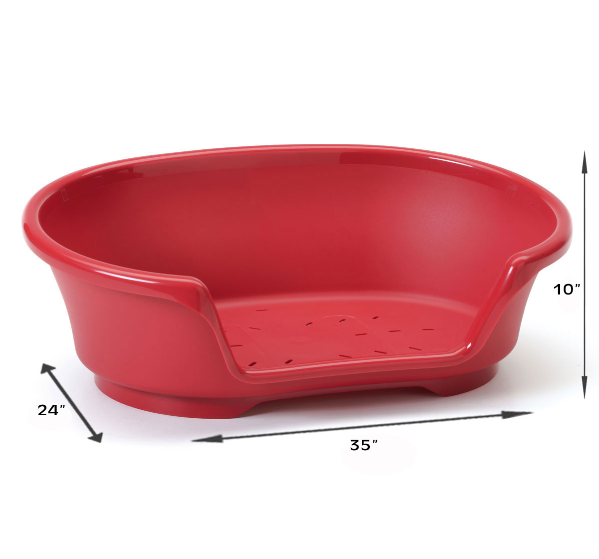 Savic Cosy Air Tub For Dog - Cranberry - 90 cm