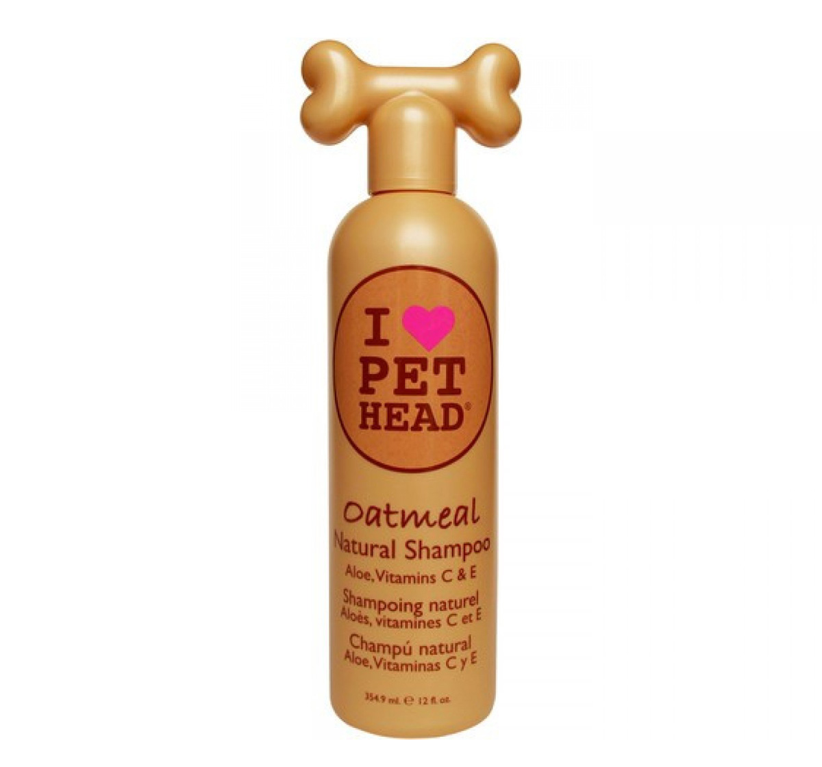 Pet Head Oatmeal Natural Dog Shampoo - 354 ml