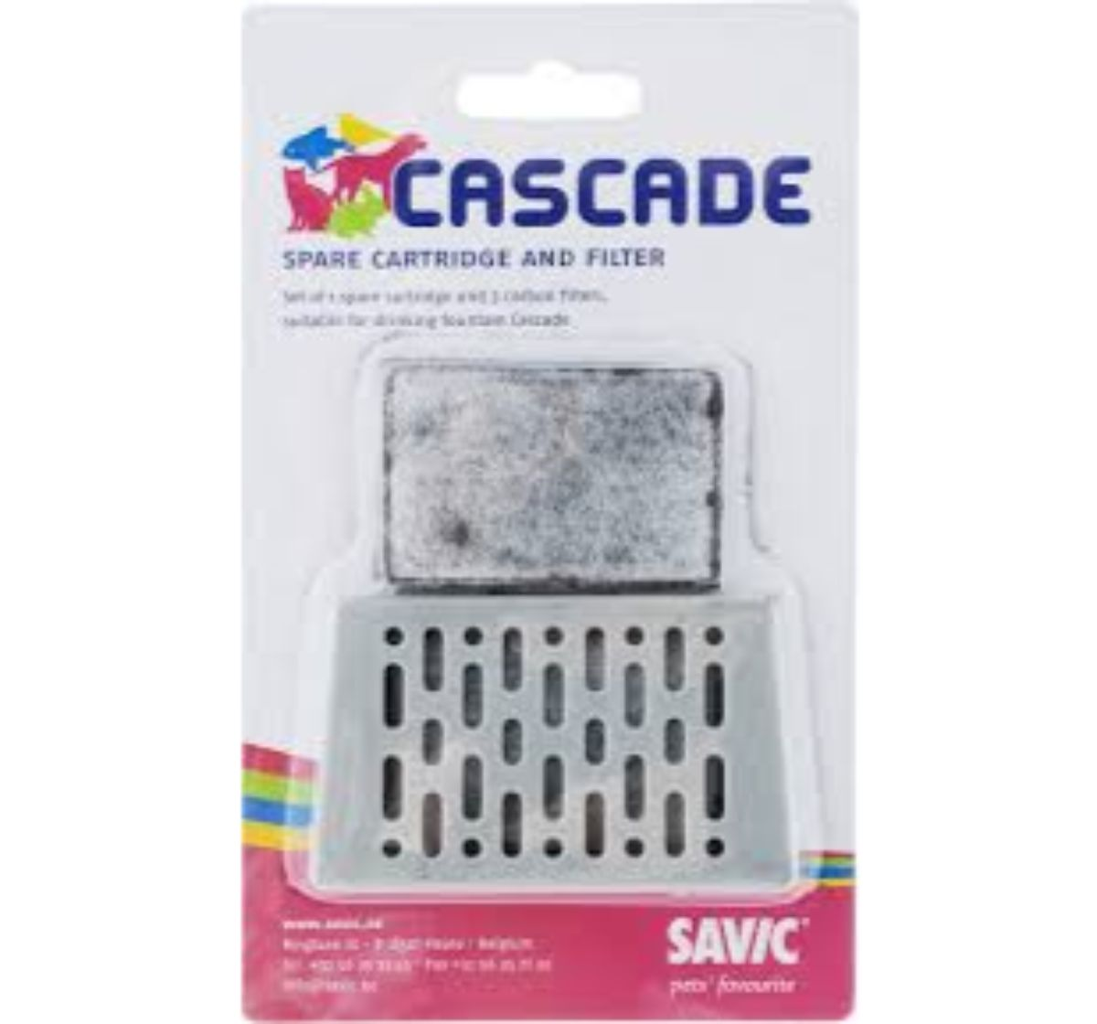 Savic Active Carbon 3 Spare filter & Cartridge for Cascade