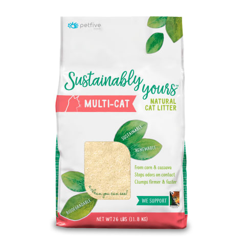 Sustainably Yours Multi-Cat Litter - 11.8 Kg