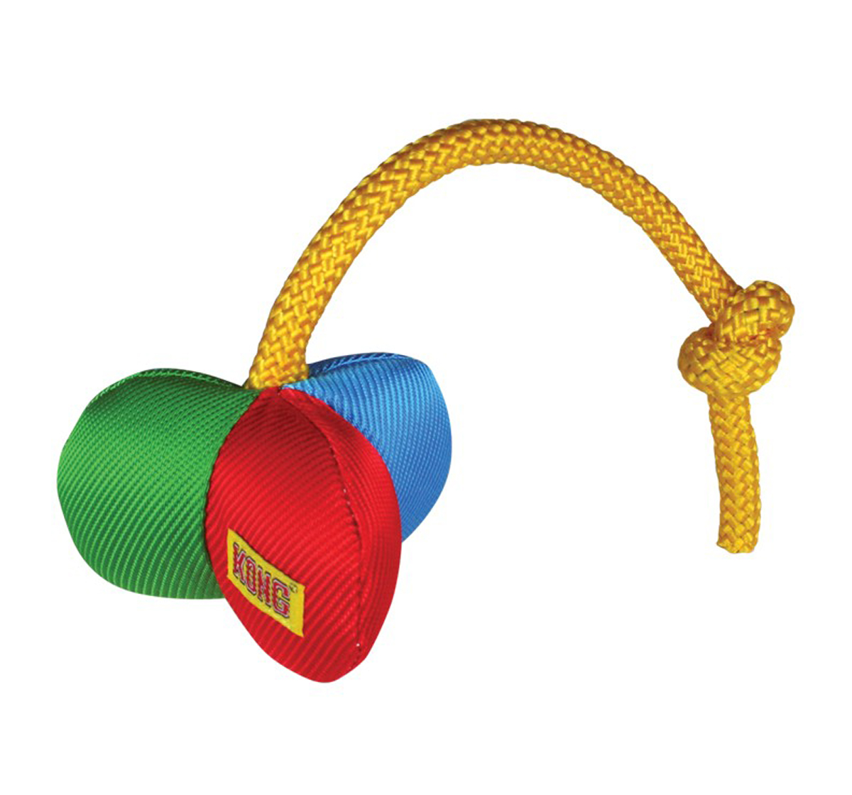 KONG Funster Flip Dog Toy - Xsmall