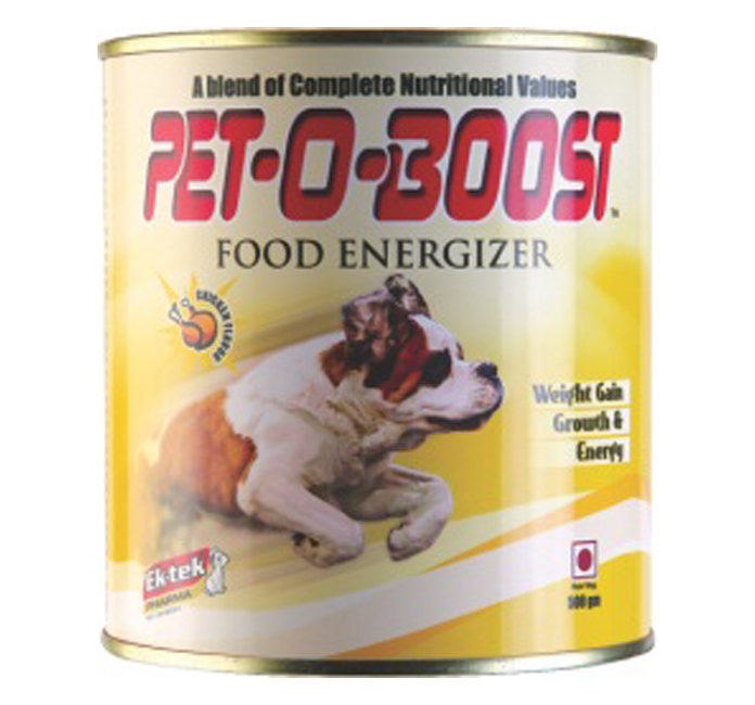 Pet-O-Boost Dog Energy Supplement 250 gram