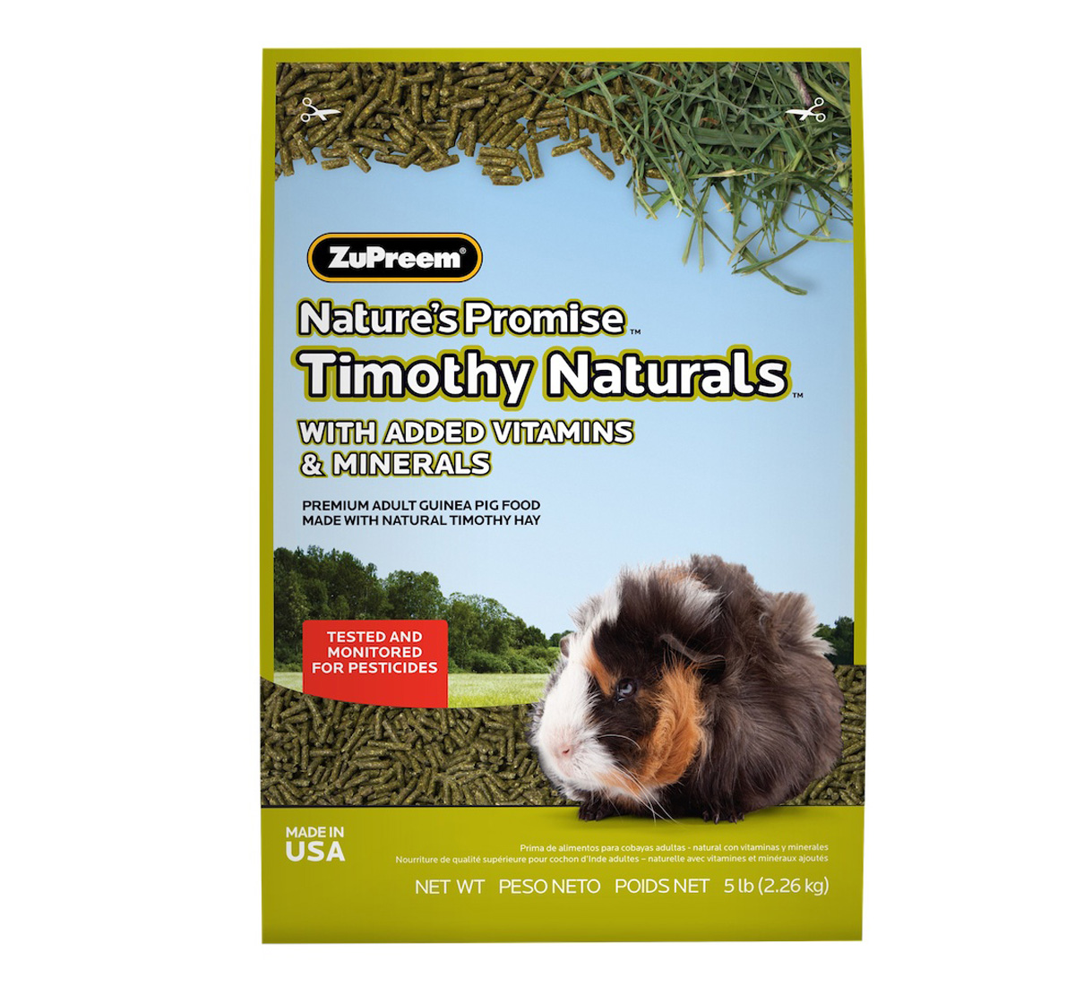 Zupreem Natures Promise Trimonthy Naturals Guinea Pig Food - 2.26 Kg
