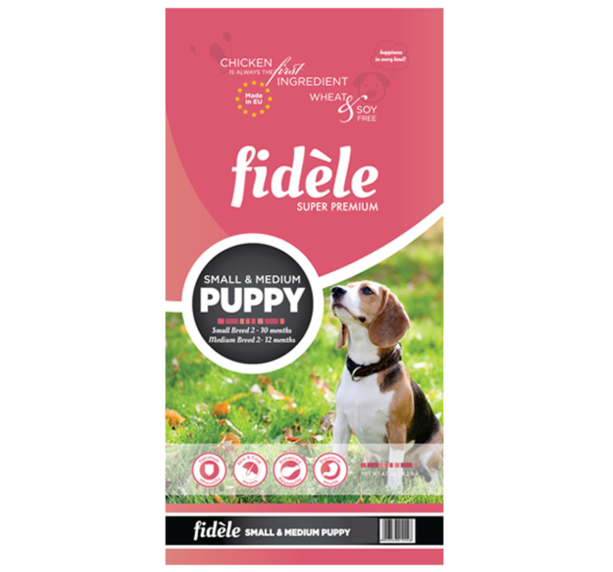 Fidele Small & Medium Breed Puppy Food - 1 kg