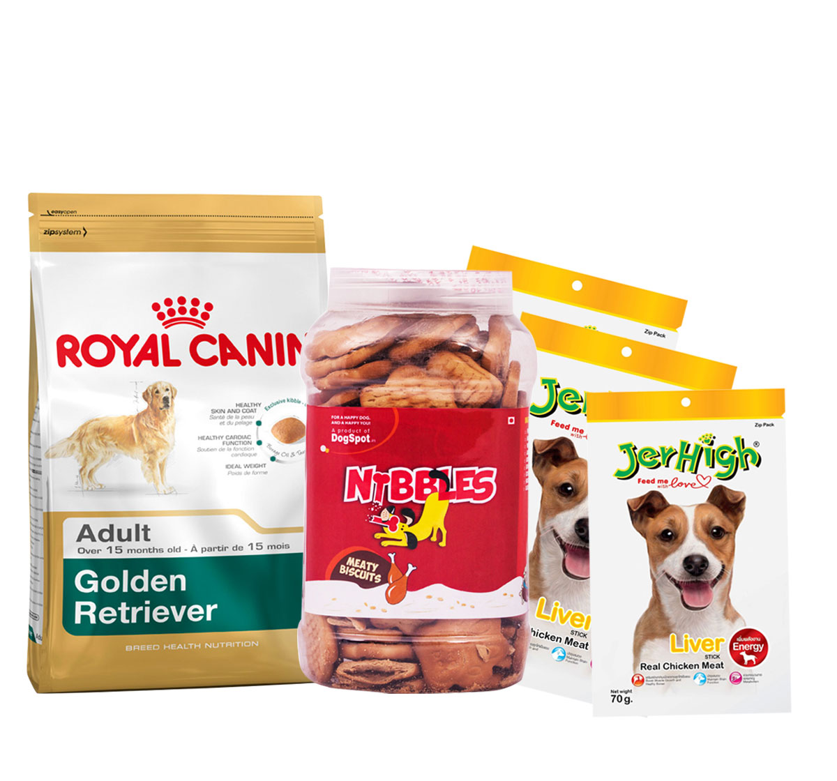 Royal Canin Golden Retriever Adult - 3 Kg With Treats & Biscuit