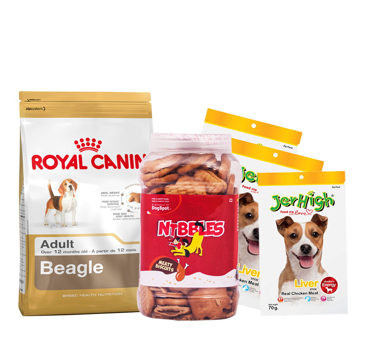 Royal Canin Beagle Adult - 3 Kg With Treats & Biscuit