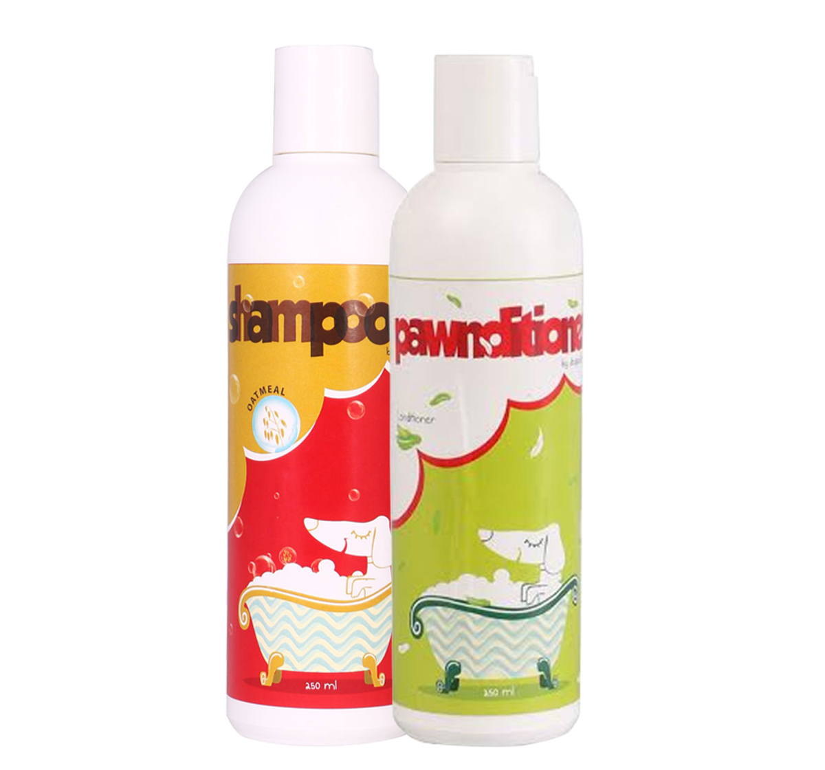 Shampooch OatMeal Shampoo & Pawnditioner Conditioner For Dogs - (250+250) ml