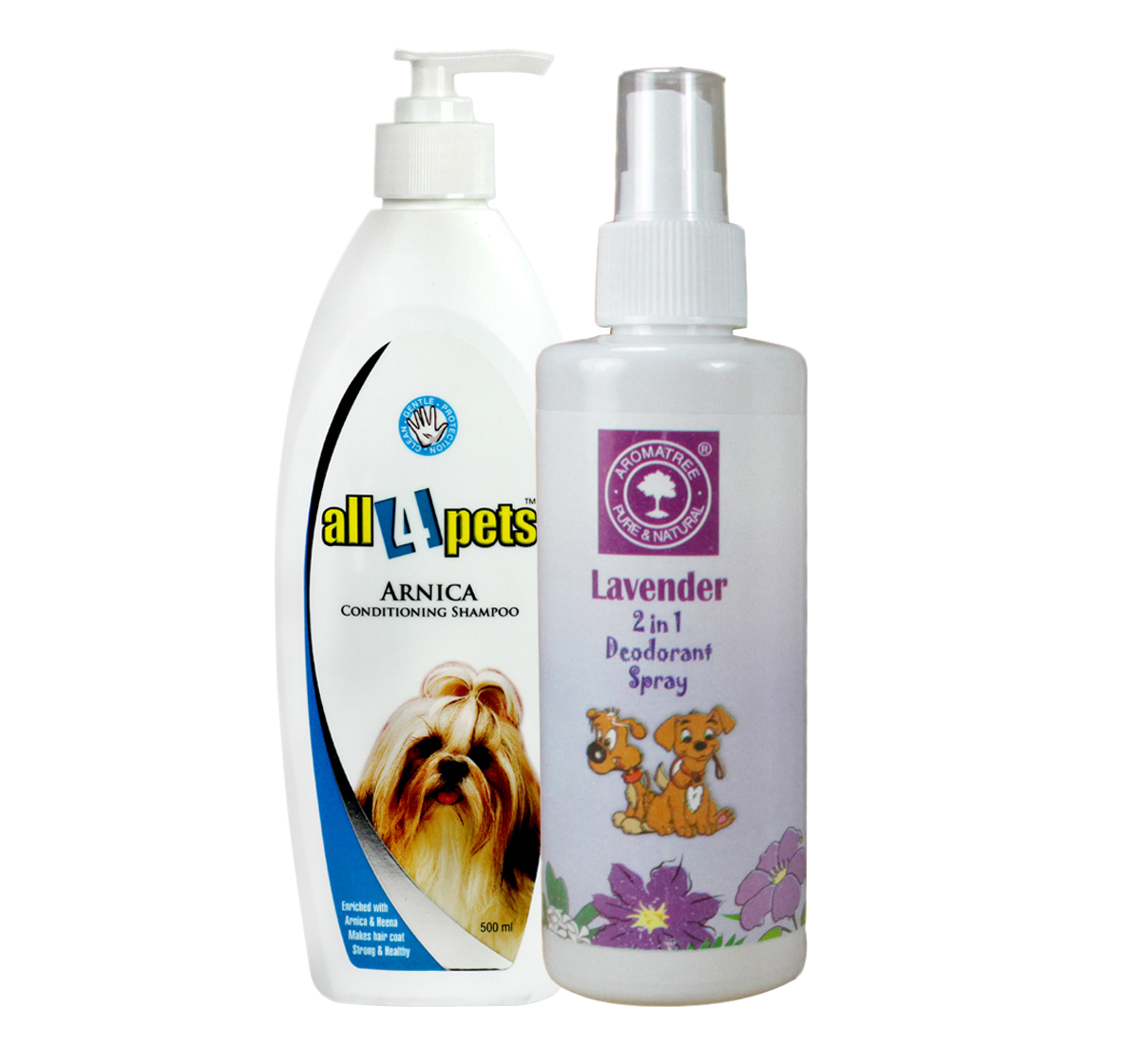 Arnica Conditioning Pet Shampoo - 500 ml With Deodorant