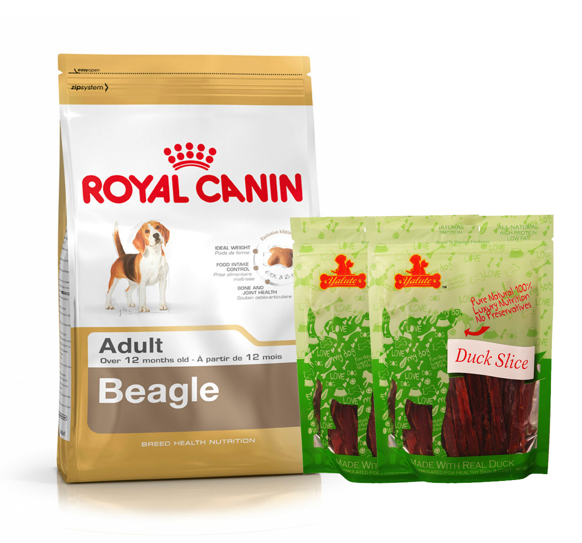Royal Canin Beagle Adult - 3 Kg  With Duck Slices