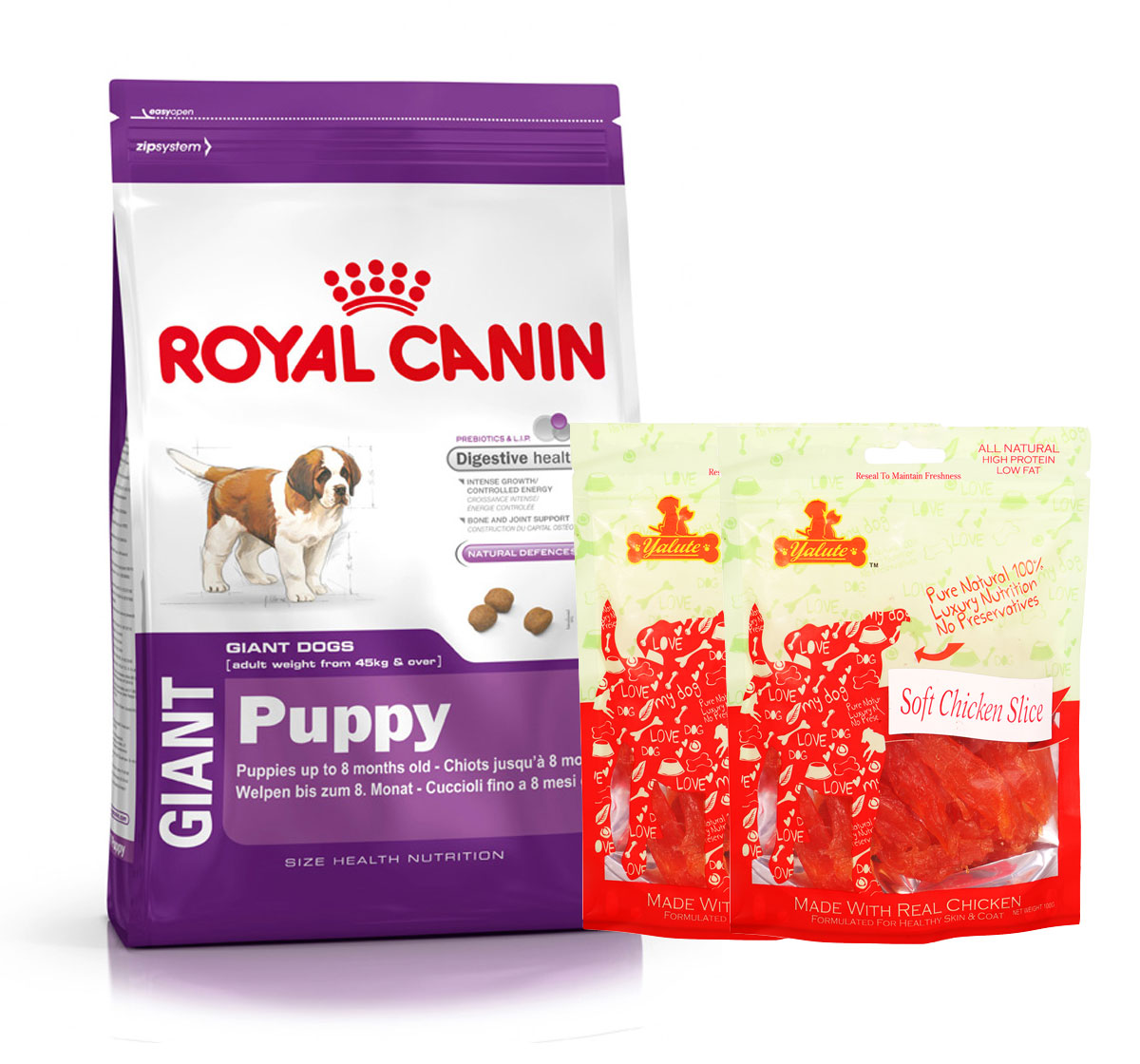 Royal Canin Giant Puppy - 4 Kg  With Chicken Slices