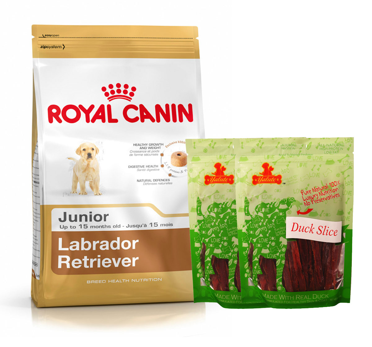 Royal Canin Labrador Junior - 3 Kg  With Duck Slices