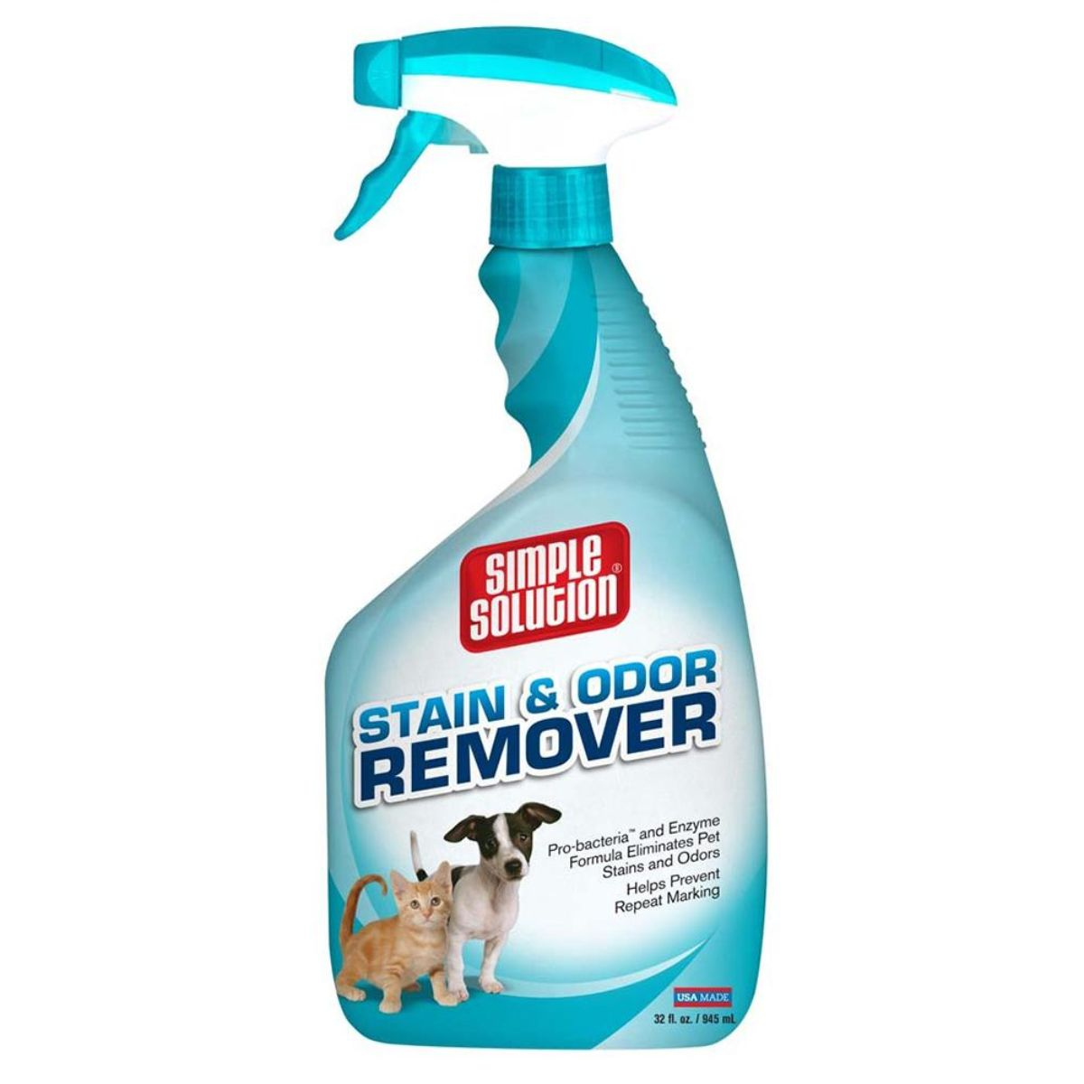 Simple Solution Dog Stain Odor Remover Spray Bottle - 945 ml