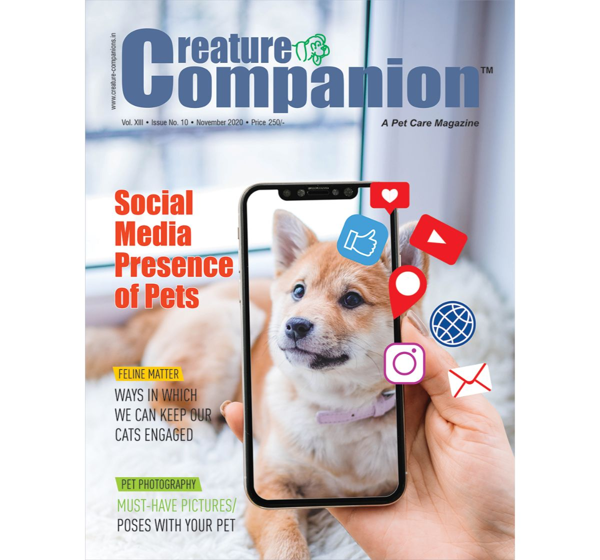 Creature Companion Magazine Two Year Subscription