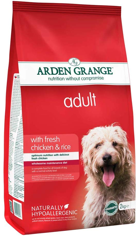 Arden Grange Adult Chicken & Rice Dog Food -6 kg