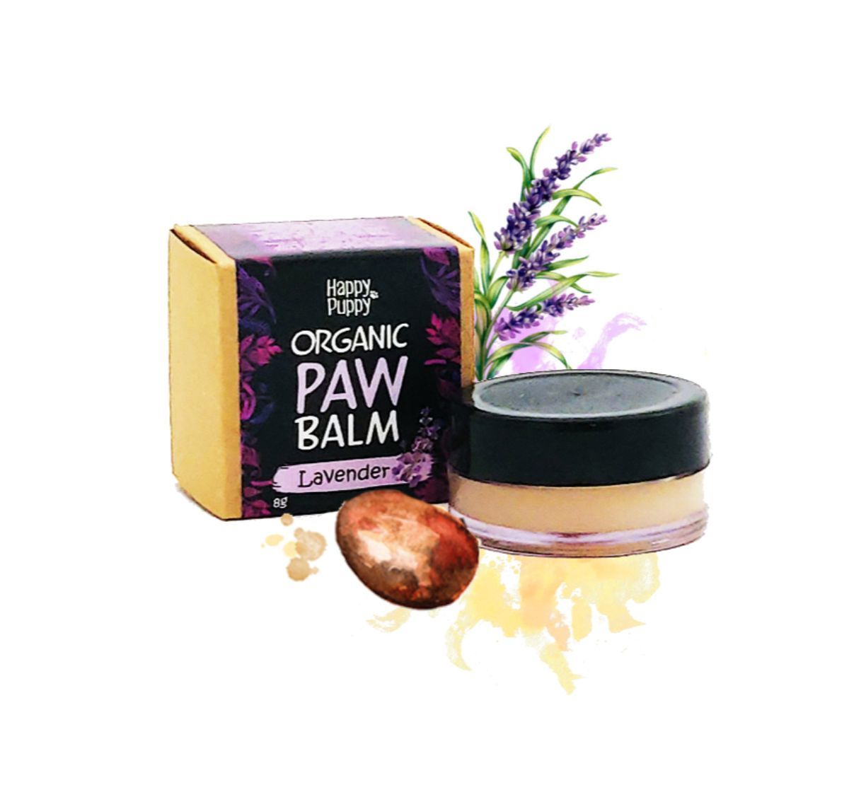 Happy Puppy Organics Paw Balm- 8gm