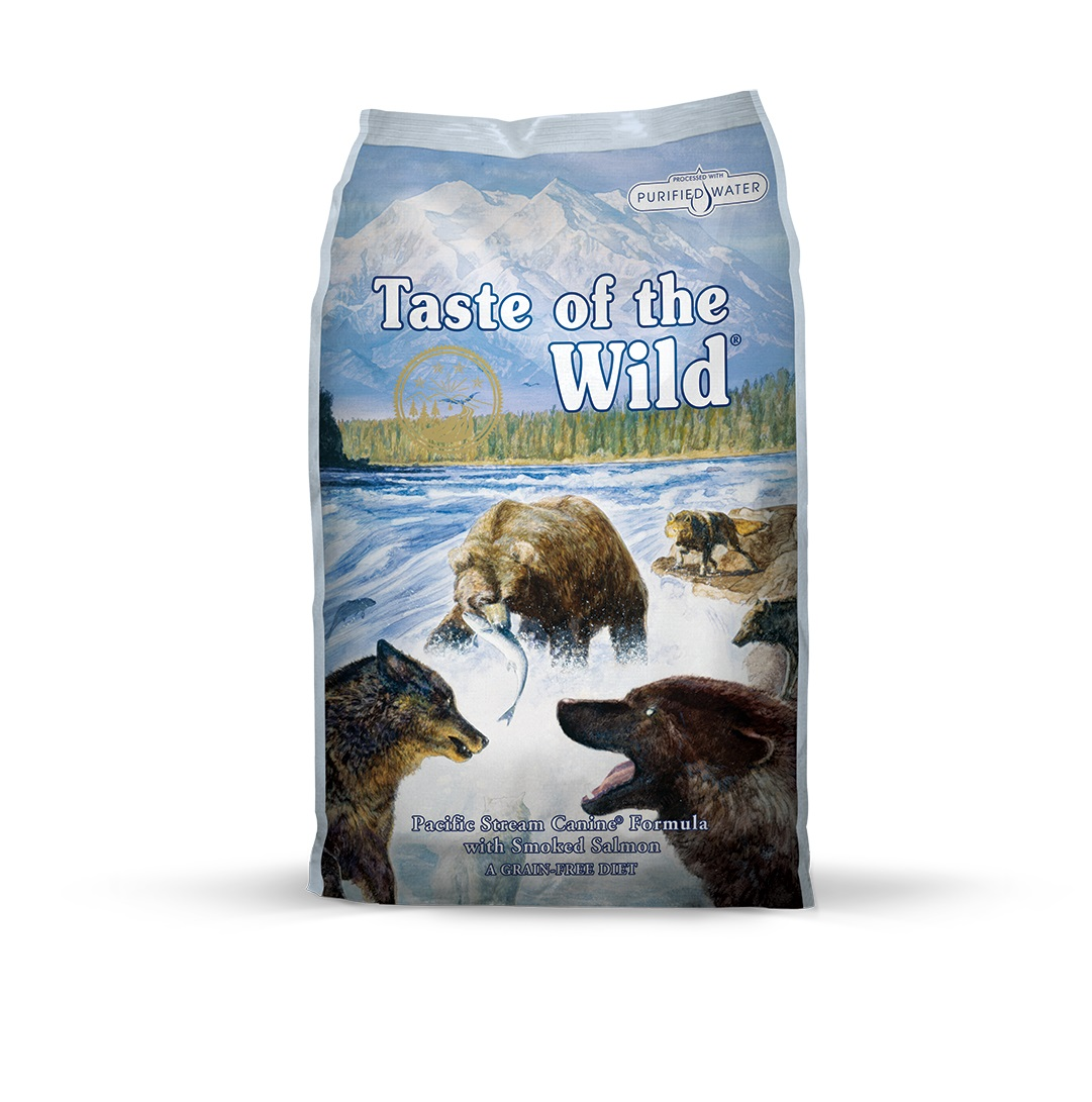 Taste of the Wild Pacific Stream Canine Formula with Smoked Salmon - 12.2 kg