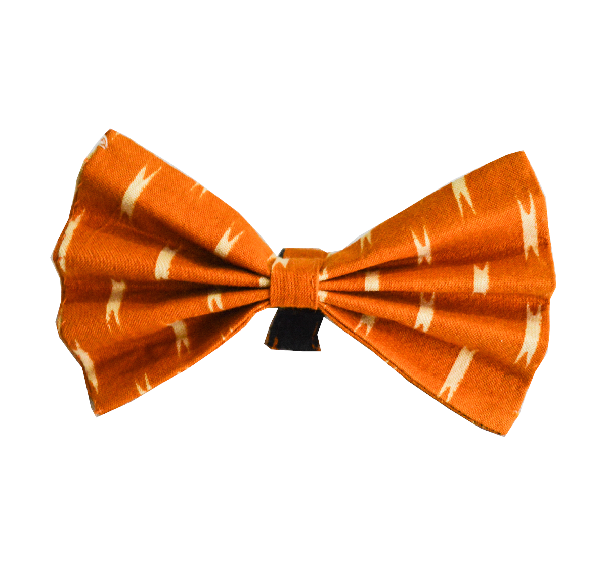 Paws A Little Yellow Ikat Adjustable Bow Tie