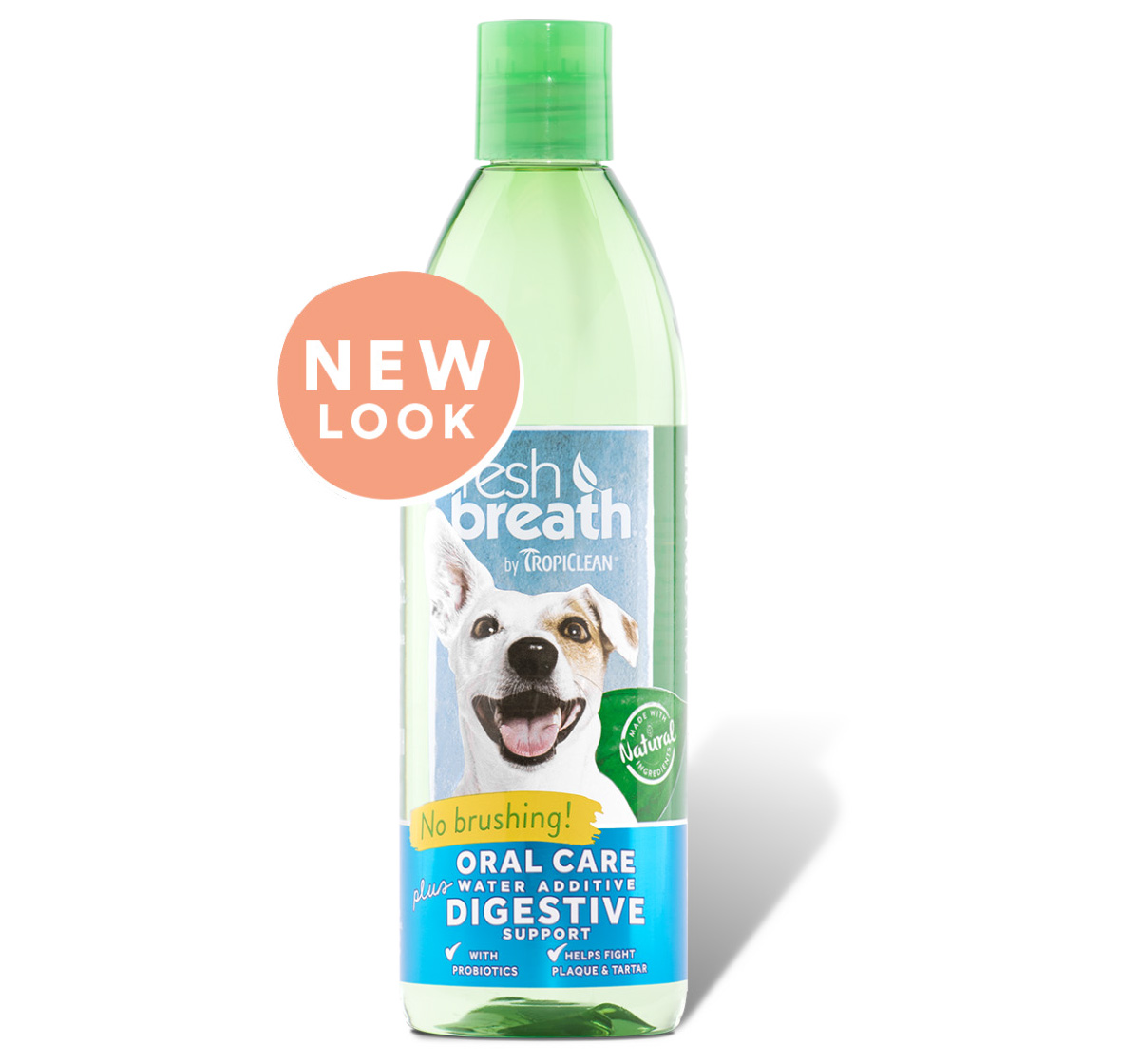 Tropiclean Fresh Breath Digestive Support Water Additive - 473 ml