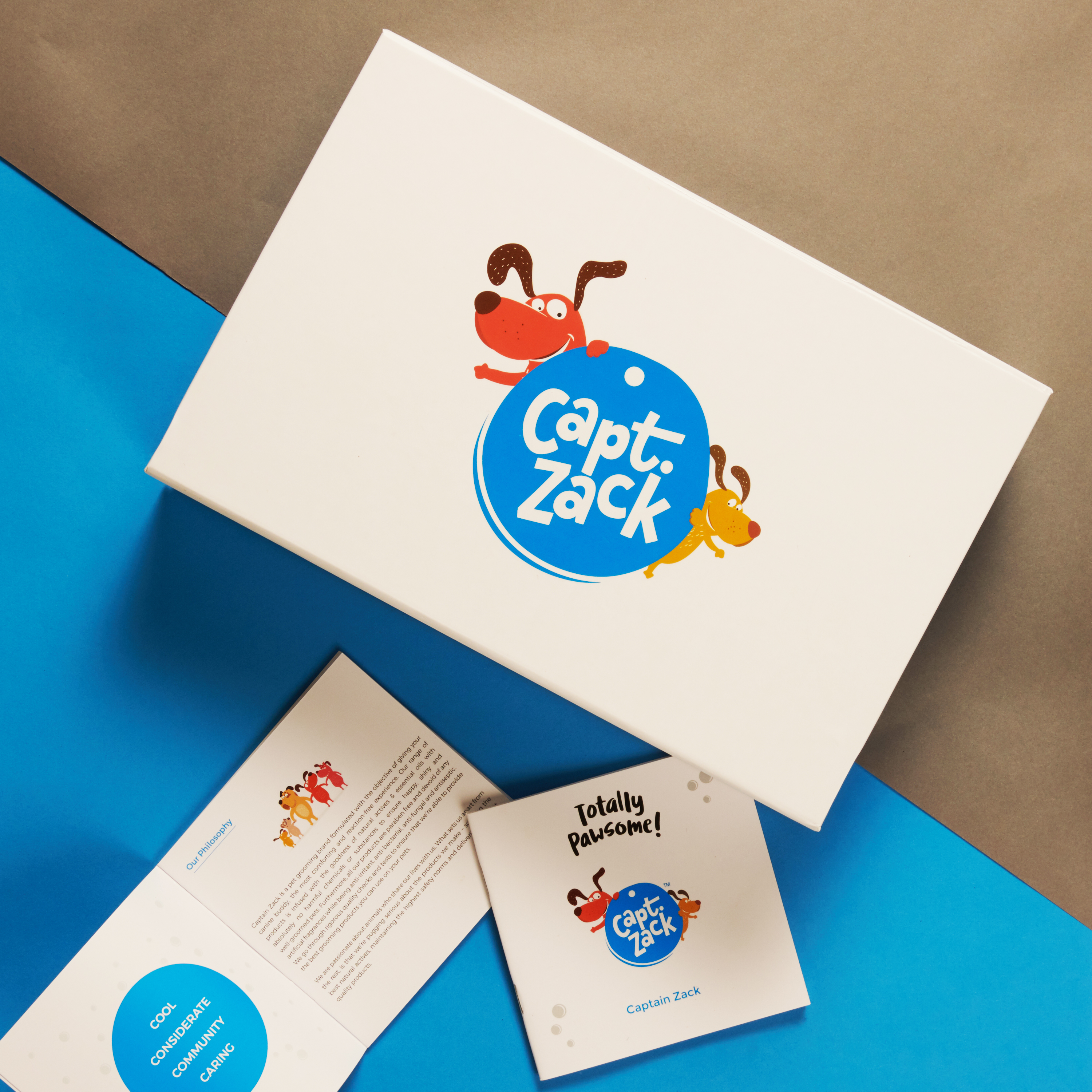 Captain Zack The Spitz Groom Box-Non Veg