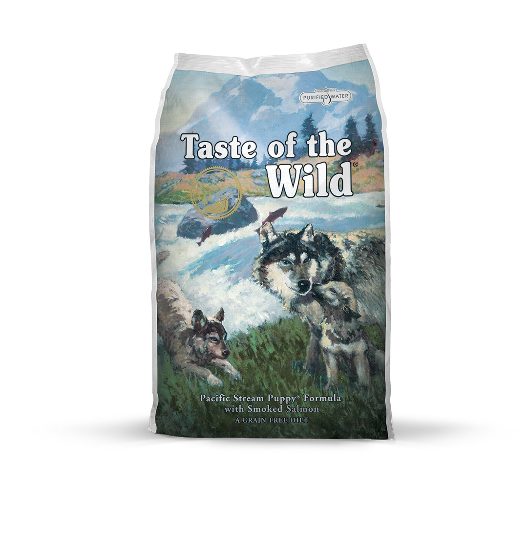 Taste of the Wild Pacific Stream Puppy Formula with Smoked Salmon -13 kg