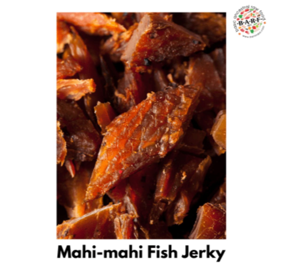 BARF Fish Jerky Mahi Mahi Dog Treat - 100 gm