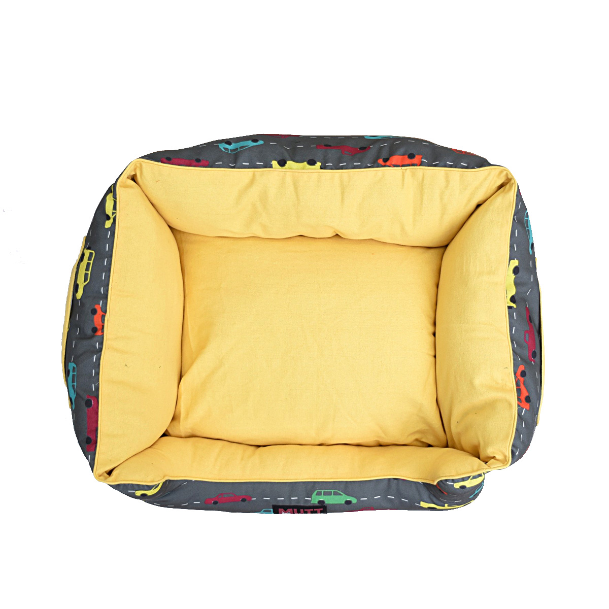Mutt Of Course Lounger Bed For Dogs - Need for Speed - Small