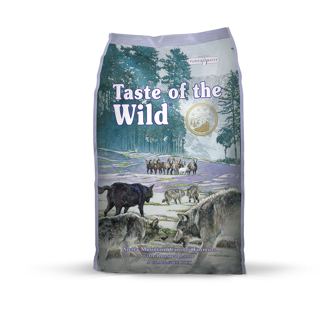 Taste of the Wild  Sierra Mountain Canine Recipe with Roasted Lamb - 5.6 Kg