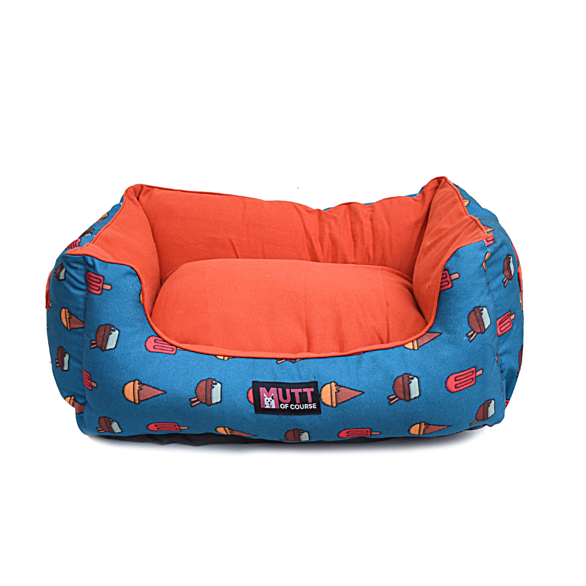 Mutt Of Course Lounger Bed For Dogs - Pupscicles - Large