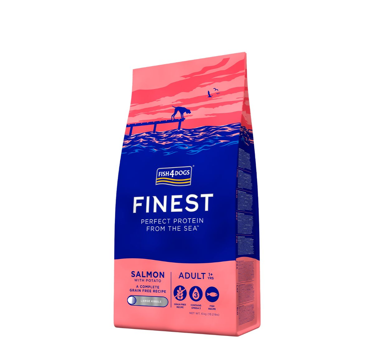 Fish4Dogs Finest Salmon Adult Dog Food - 6 Kg