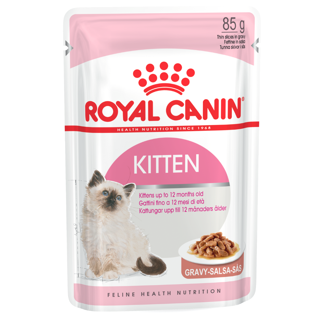 Royal Canin kitten Food 85 gm - 12 Pouches