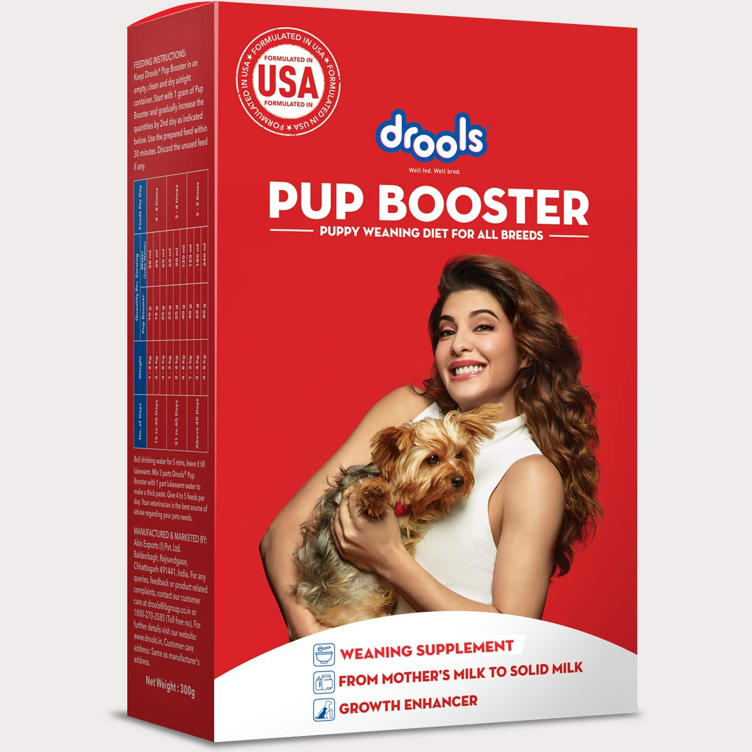 Drools Puppy Booster Weaning food For All Breed - 300 gm