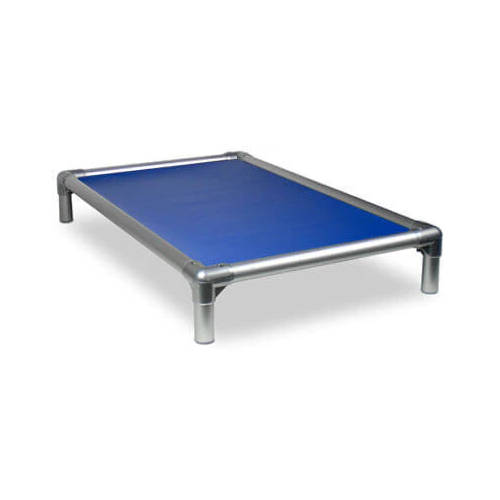Kuranda All Aluminium Dog Bed Royal Blue - Medium